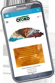 Celular diseño web responsive