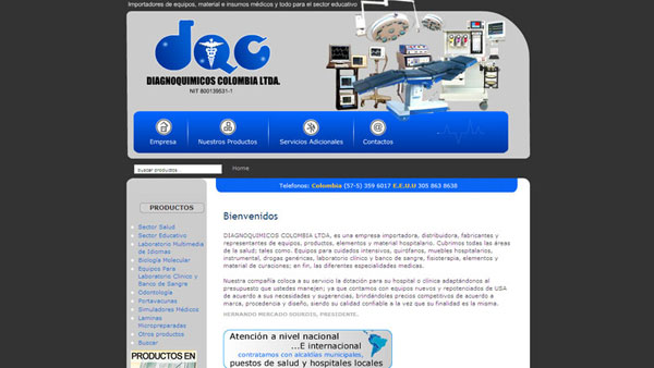 DIAGNOQUIMICOS COLOMBIA LTDA