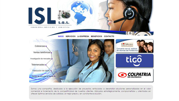 ISL SAS. Call Center
